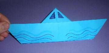 Cómo hacer un Barco con papel