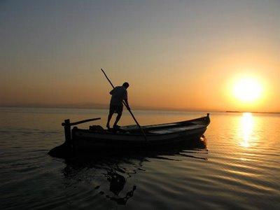 El barquero inculto