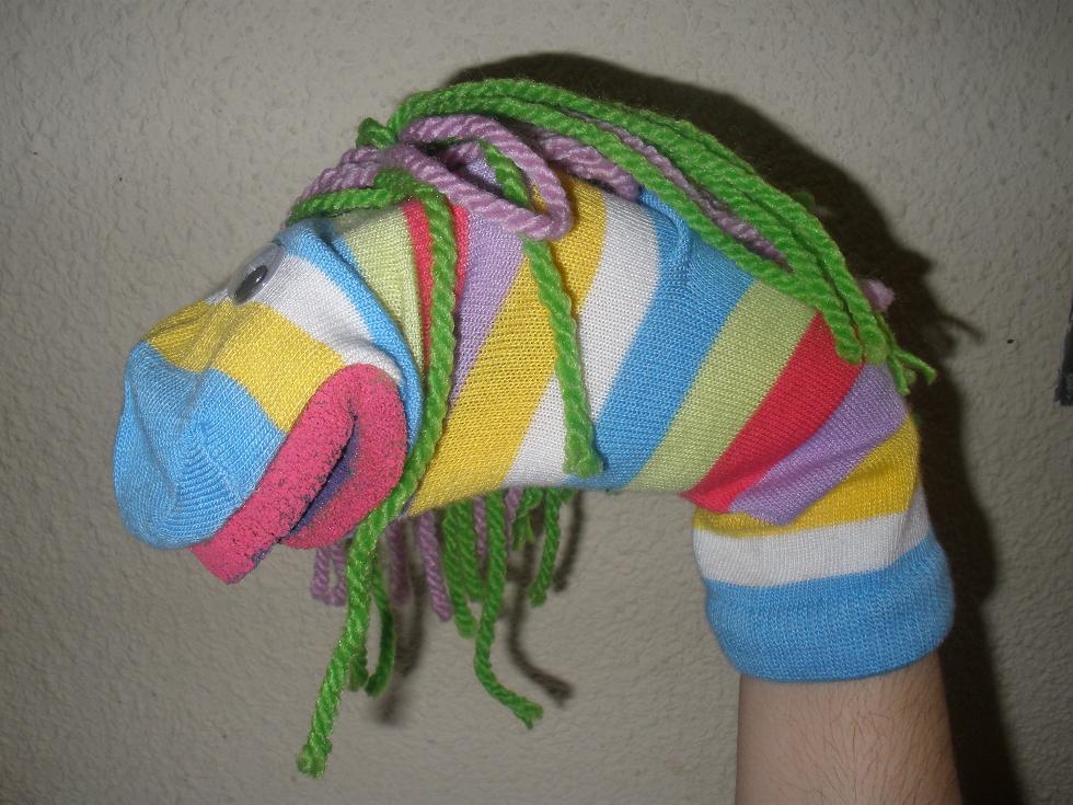 Cómo hacer una Marioneta de calcetín