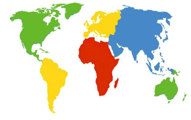 "Semana Infantil ""Los cinco continentes"""