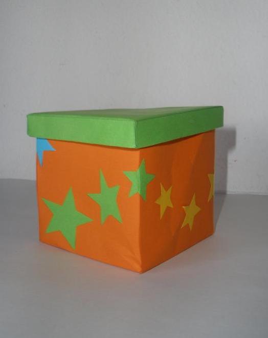 Cómo hacer una caja de papel