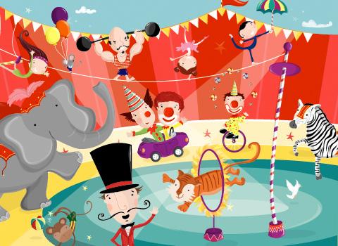 Campamento «El gran circo Oriental»