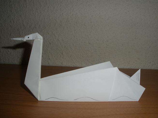 Cómo hacer un Cisne con papel