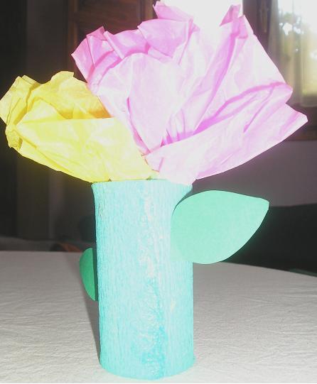 Cómo hacer Flores con papel