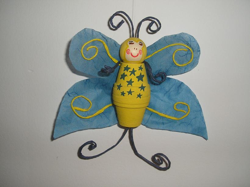 Mariposa para colgar