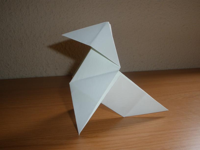 Cómo hacer una pajarita de papel