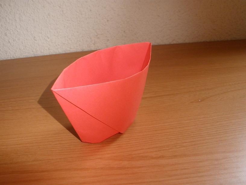 Cómo hacer un Vaso de papel