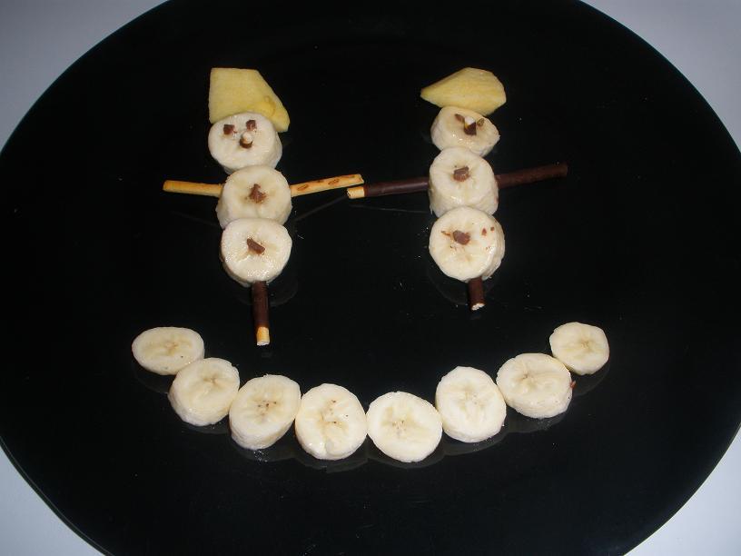Espantapájaros de plátano