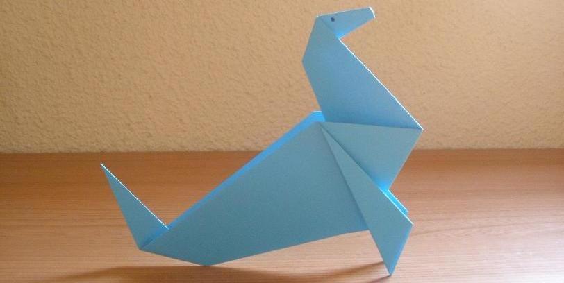 Cómo hacer una foca de papel