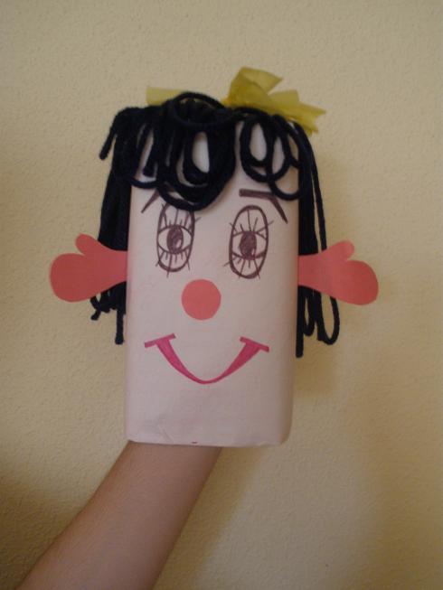 Marioneta con brik