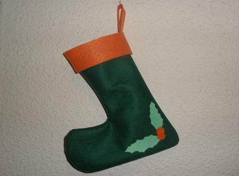 Cómo hacer un Calcetín de Navidad
