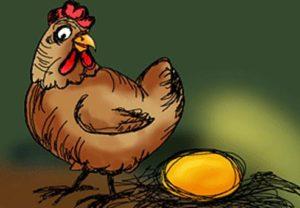 la gallina de los huevos de oro | teocio