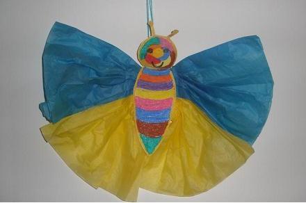 Cómo hacer una Mariposa colgante