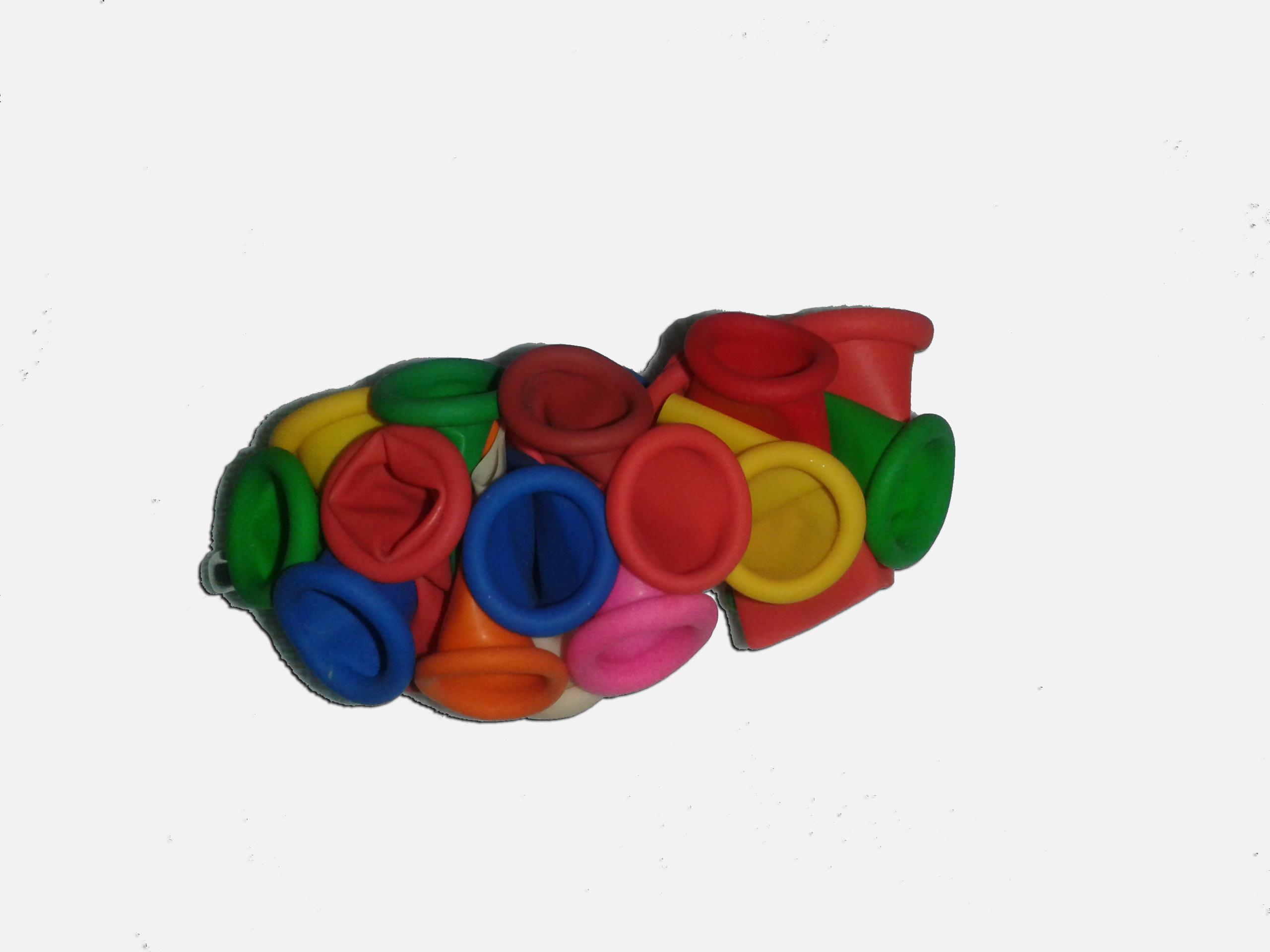 Cómo hacer un broche con globos