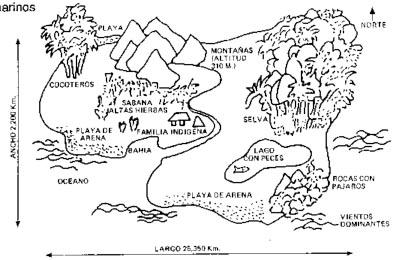 La isla del pacífico