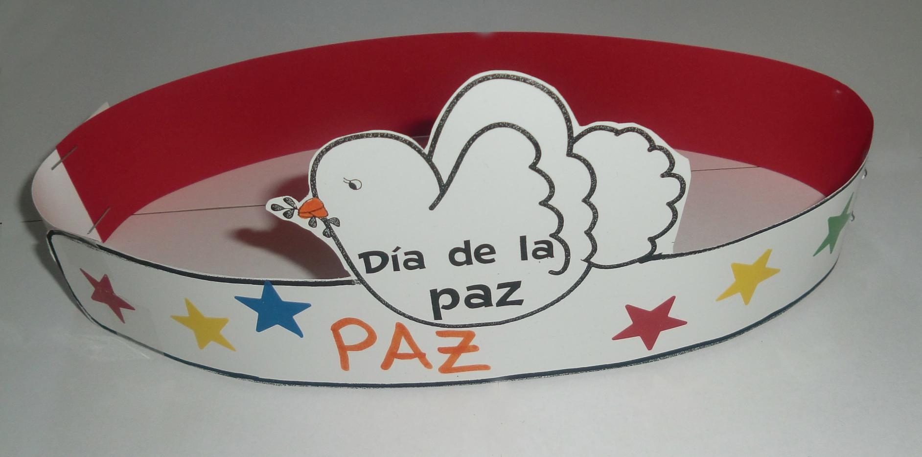 Corona día de la paz