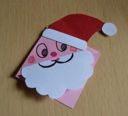 Marcapáginas papá Noel