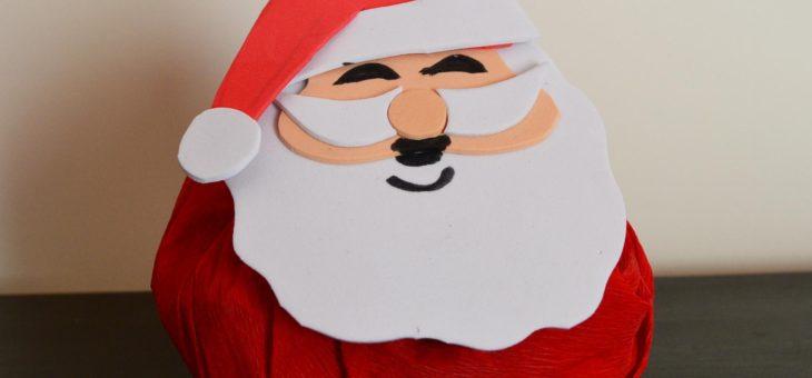 Papá Noel con caramelos